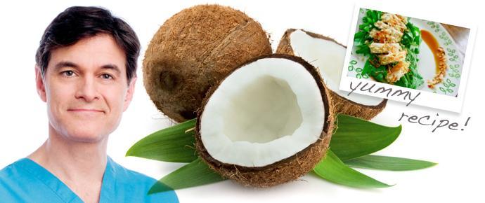 Dr OZ: Coconut Oil has Health Benefits!