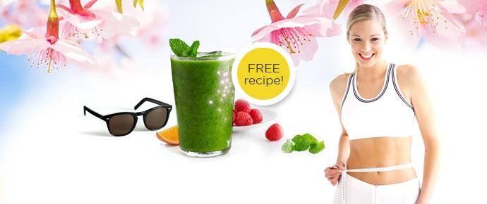 Get into shape: Free weight-loss & detox smoothie recipe!
